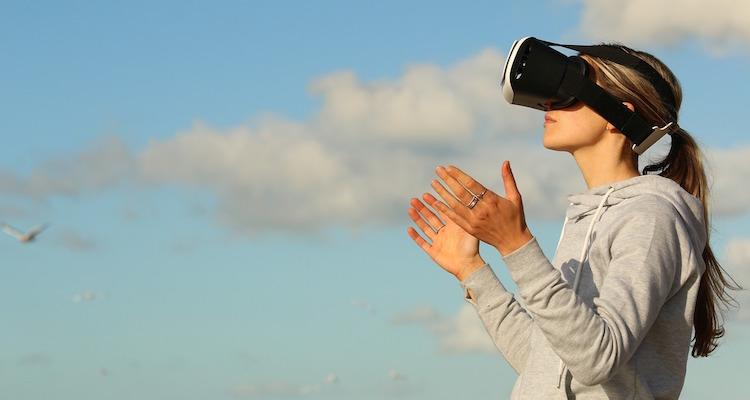 VR, 仮想, Headset