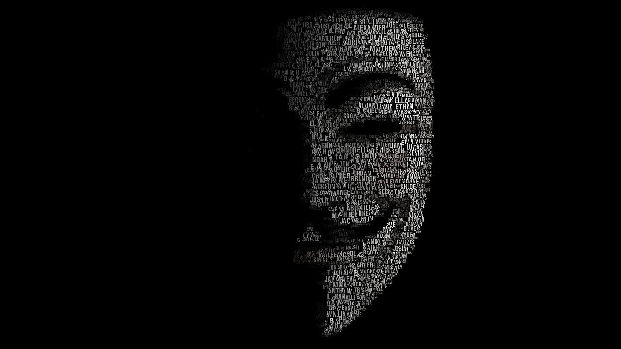hack Hacker ハッカー 匿名 マスク アノニマス ガイ・フォークス ハクティビスト