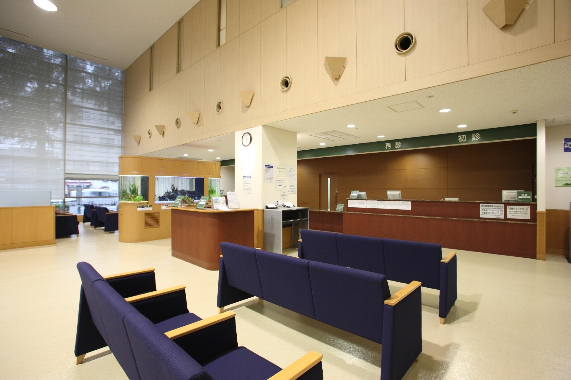 Hospital 病院 待合室 受付