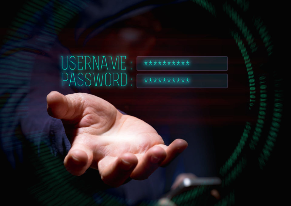 username, password, id, auth