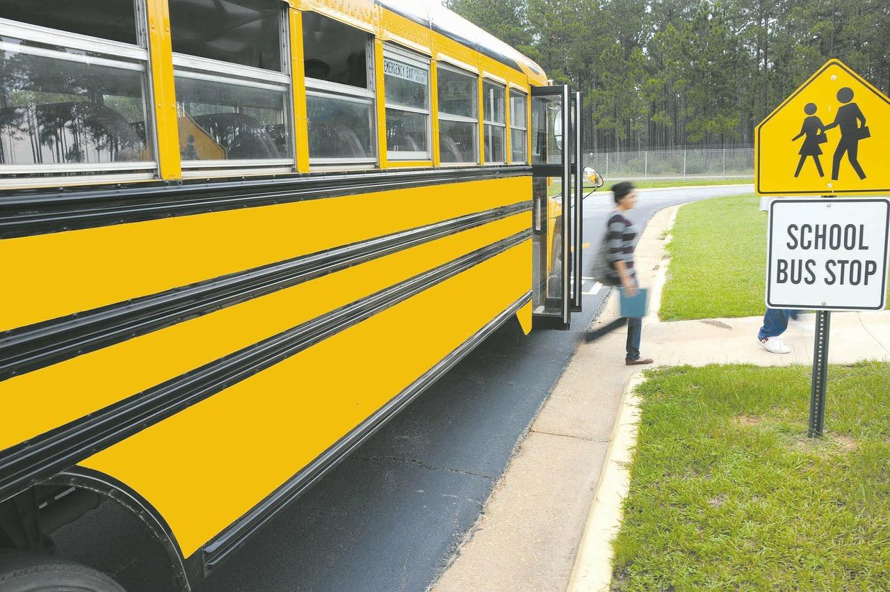 School Bus 学校 バス スクールバス 学生